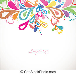 Abstract colorfull background. Vector - Abstract colorfull...