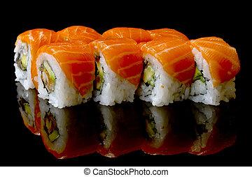 sushi - dinner set