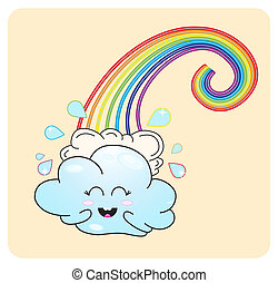 Cloudlet and rainbow