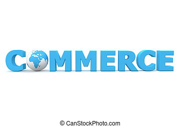 World Commerce Blue