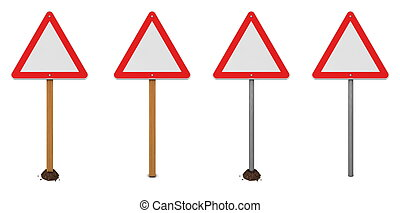 Triangular Warning Sign Variations - triangular warning sign...