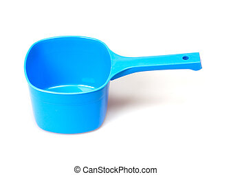 plastic scoop
