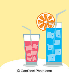 Drink - Illustration vector