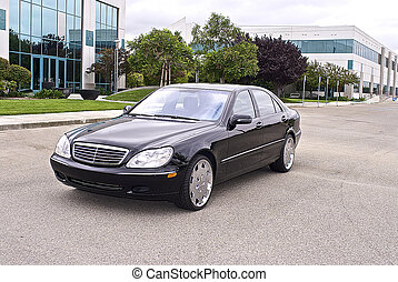 Luxury sedan imported from Germany