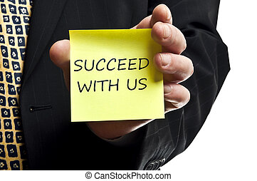 Succeed with us