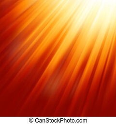 Warm sun light EPS 8 vector file included
