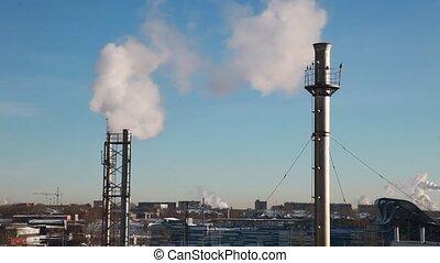Carbon Dioxide Causing Global Warmi - %u0421himneys...