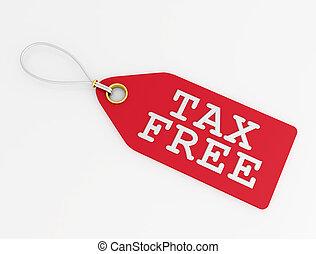 tax free label