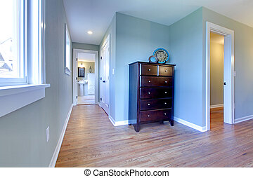 Hallway from bedroom to the bathroom - BEwly remodeled...