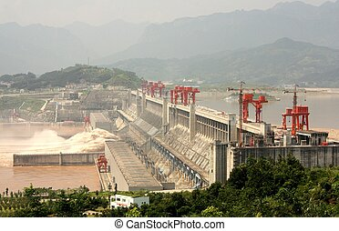 Three Gorges Dam - The Biggest Hydroelectric Power Station...