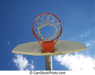 Basketball Net and Backboard Urban