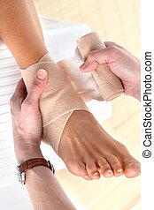 Foot pain - Foot joint pain Bandage