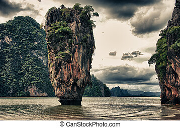 Ko Tapu, Thailand - Ko Tapu, better known as James Bond...