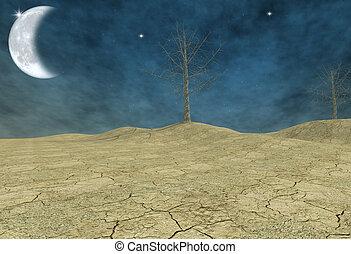 fantasy desert - digital artwork