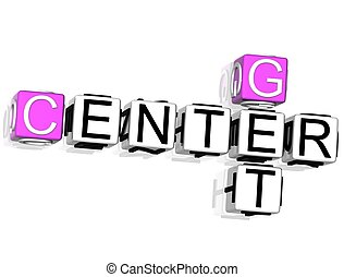 Get Center Crossword