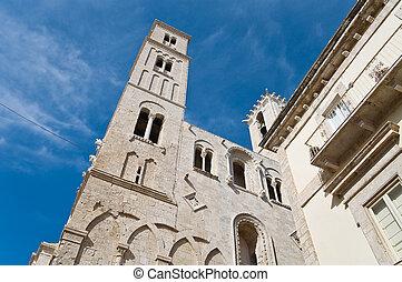 Cathedral. Giovinazzo. Apulia.