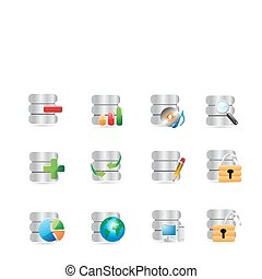 database icons for web design