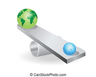 the concept of earth seesaw