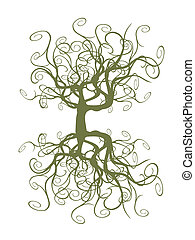 tangled tree  - special tangled tree for design