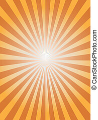 sunray background for design