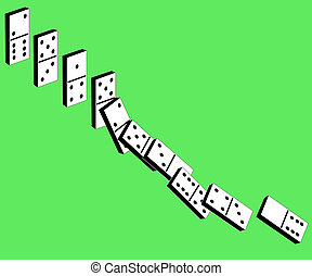 Dominoes - Game of a dominoes for rest and entertainment