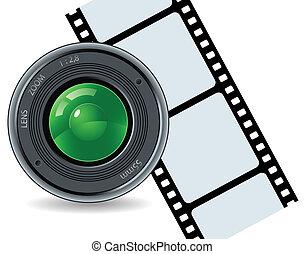 Camera and cinefilm