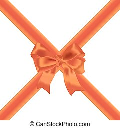 Tape and festive red bow