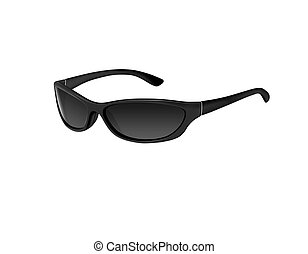 Sunglasses - Illustration of a pair of sunglasses isolated...