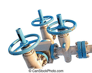 Latch 8 - Latch on a oil well. Oil industry. Construction...