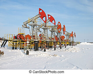 Oil industry 3 - Industrial construction and mechanism Work...