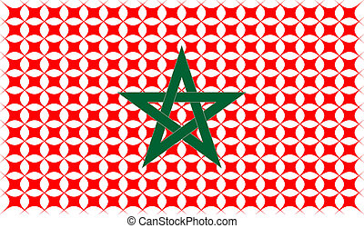 marocco national flag icon sign