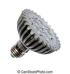 Energy saving bulb Isolated object