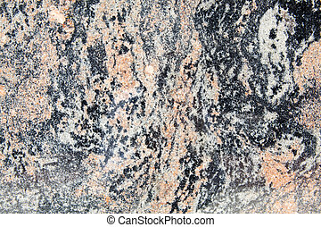 Full Frame Rock Background, Gneiss, Metamorphic Granite,...
