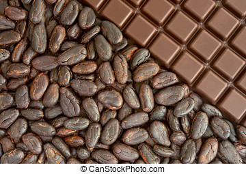 cacao,  chocolate