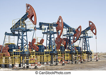 Oil pumps 2 - Oil pumps in West Siberia Oil industry...