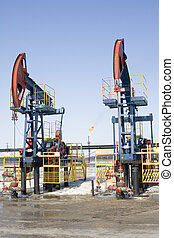 Oil pumps 4 - Industrial construction and mechanism Work of...