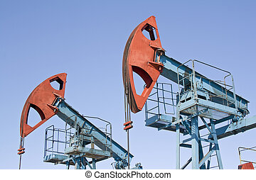 Oil industry 4 - Oil pumps in West Siberia. Oil industry...