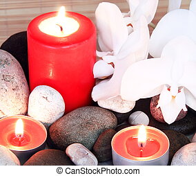 Spa Treatment Set with Candles
