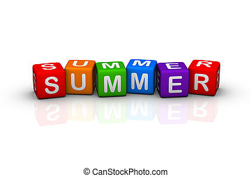 summer  (buzzword cubes series)