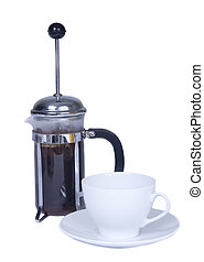 Coffee pot and French press