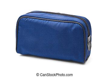 Blue case - isolated on white background