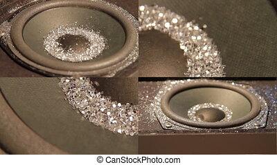 Glitter Speaker 3X