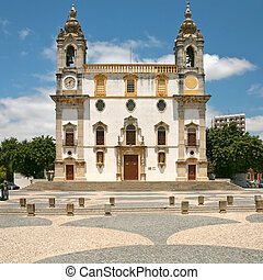 Carmo Church in Faro, Portugal - The Igreja do Carmo Carmo...