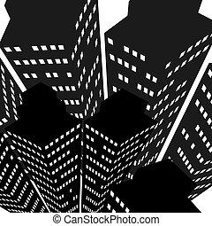 Skyscrapers icon