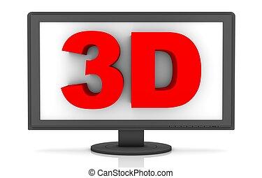 LCD 3D
