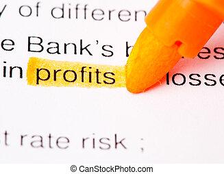 profits def