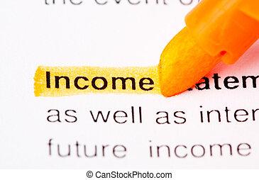income def