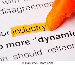 industry def