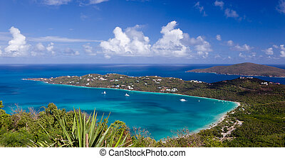 Magens Bay on St Thomas USVI - View of Magens Bay - the...