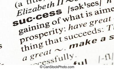 succes word